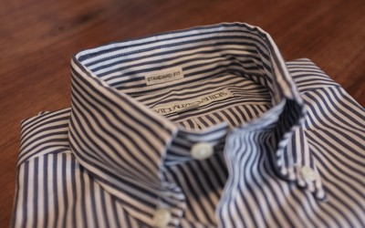 INDIVIDUALIZED SHIRTS   STANDARD FIT B.D SHIRTS Bengal Stripe