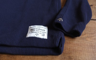 Nigel Cabourn   TURTLENECK SHIRT