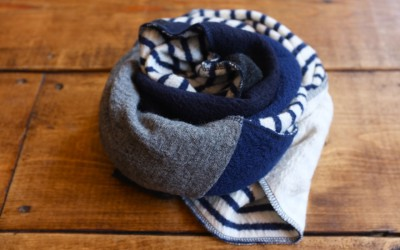NATIC   圧縮Wool Border Scarf