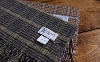 Johnston's of Elgin   Hound Tooth Check Muffler &…