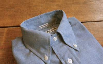 INDIVIDUALIZED SHIRTS   STANDARD FIT B.D SHIRTS Heritage Chambray