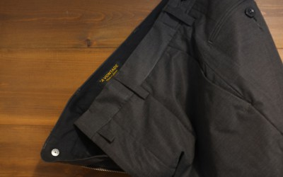 A VONTADE   Tapered Cropped Trousers