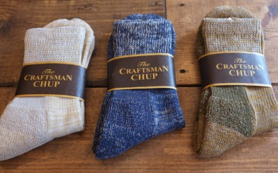 Nigel Cabourn × CRAFTMAN CHUP  SPECIAL SOCKS & ANKLE SOCKS
