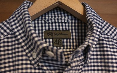 Nigel Cabourn   BUTTON DOWN SHIRT S.S