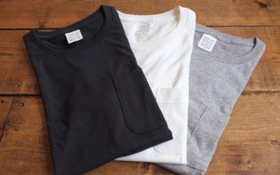 A VONTADE   US Cotton Tube Pocket T-Shirt