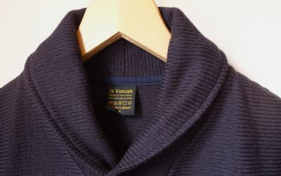 A VONTADE   Russell Shawl Collar Cardigan