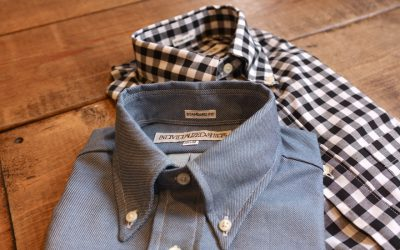 INDIVIDUALIZED SHIRTS   Heritage Denim & Big Gingham Check STANDARD FIT B.D S/S SHIRTS