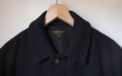 A VONTADE   Kersey Melton Overcoat Ⅱ
