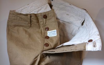 A VONTADE   Classic Chino Trousers -Narrow Fit-