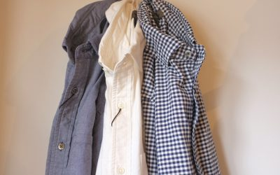 Nigel Cabourn   BRITISH OFFICERS SHIRT(GINGHAM+PIN OX) & (PIN OX)