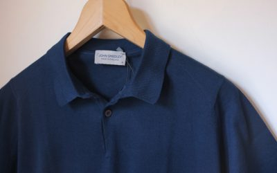 JOHN SMEDLEY   RHODES POLO SHIRT SHORT SLEEVES