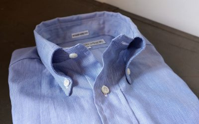 INDIVIDUALIZED SHIRTS   Hairline Stripe Standard Fit Button Down