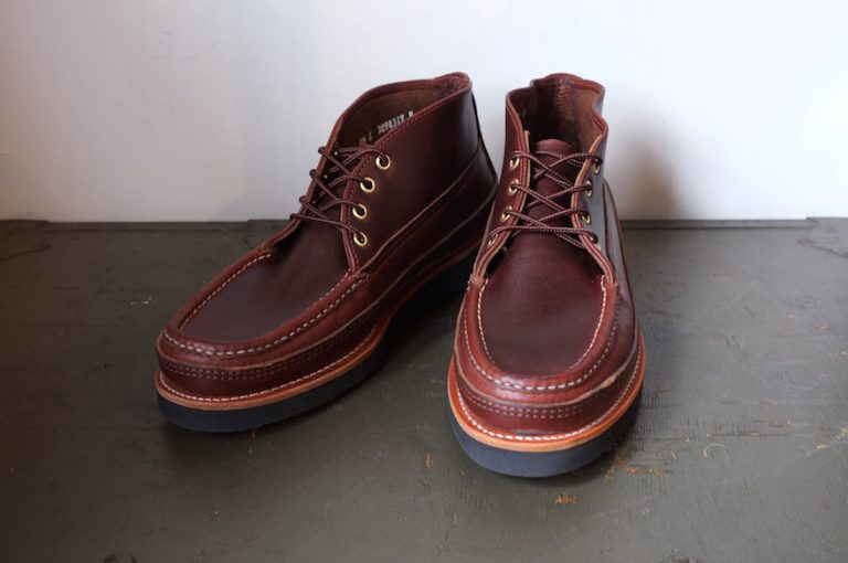 RUSSELL MOCCASIN   4EYELET SPORTING CLAY'S CHUKKA