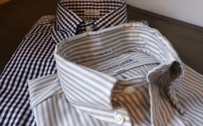INDIVIDUALIZED SHIRTS   Candy Stripe & Gingham Check Standard Fit Button Down