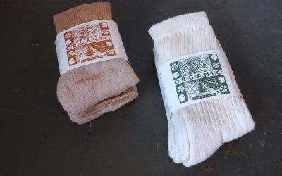 ORGANIC THREADS   3 Pack Regular Crew Socks & 3 Pack Short Crew Socks