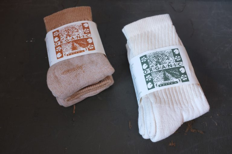 ORGANIC THREADS   3 Pack Regular Crew Socks & 3 Pack Short Crew Socks