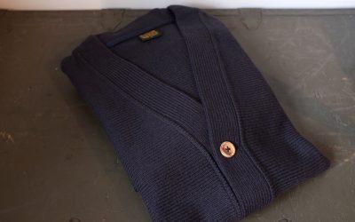 A VONTADE   Raschel V-Neck Collar Cardigan