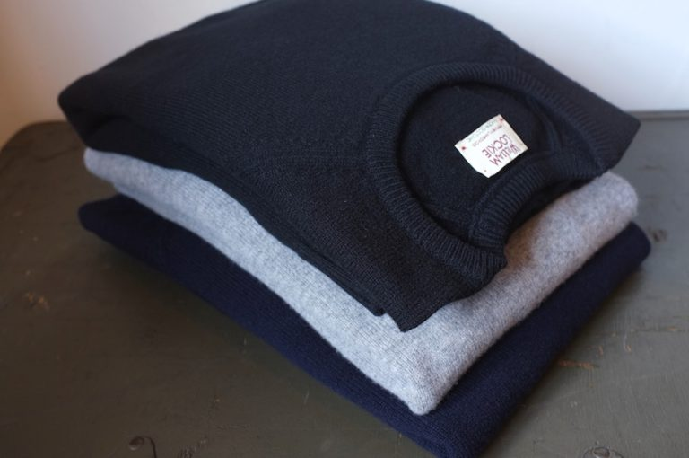 WILLIAM LOCKIE   CREW-NECK RAGLAN L/SL PULLOVER