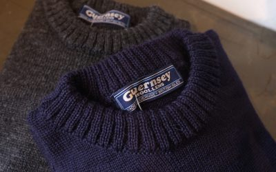 GUERNSEY WOOLLENS   Traditional Guernsey Crew Neck & Guernsey Hats