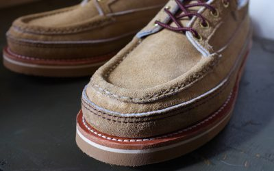 RUSSELL MOCCASIN   HURON MOCCASIN