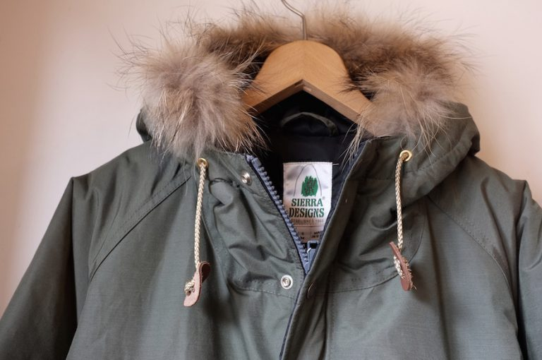 SIERRA DESIGNS   INSULATION FUR PARKA