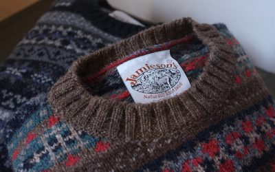 JAMIESON'S   FAIRISLE L/S CREW NECK ALL PATTERNS