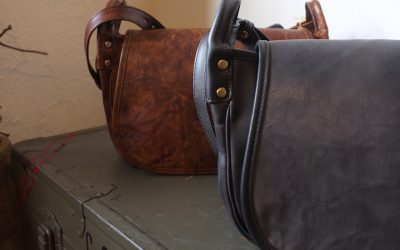 SLOW   Vintage Horse Hunting Shoulder Bag S