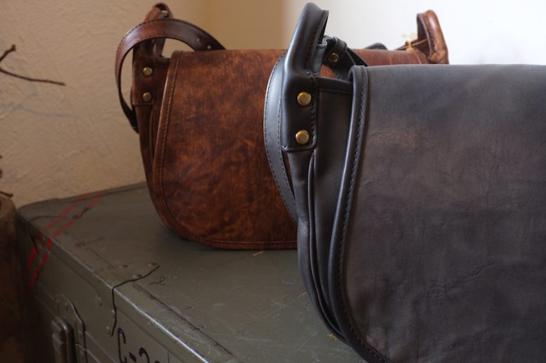 SLOW   Vintage Horse Hunting Shoulder Bag S