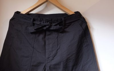 A VONTADE   Utility Trousers W/Belt