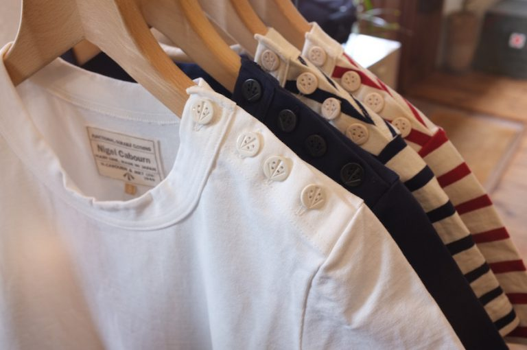 Nigel Cabourn   SAILOR T-SHIRT S.S