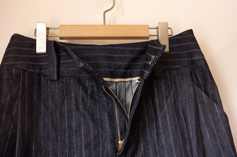 SHORT CUT FOR MARKS   Tuck A-line skirt