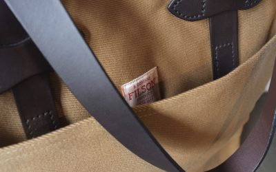 FILSON   OPEN TOTE & TOTE BAG WITH ZIPPER