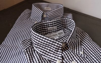 INDIVIDUALIZED SHIRTS   Bengal Stripe & Gingham Check Standard Fit Button Down