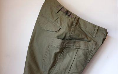 A VONTADE   Fatigue Trousers