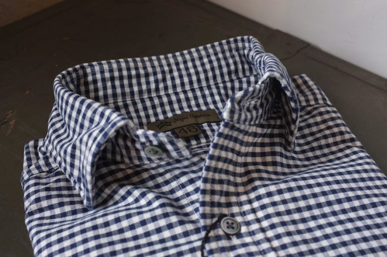 Nigel Cabourn   BRITISH OFFICER'S SHIRT-Gingham