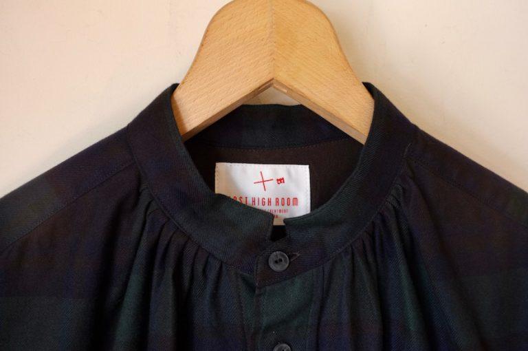 EAST HIGH ROOM   Tuck Gather shirt