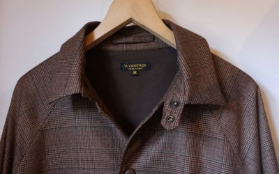 A VONTADE   Wool Coaches Jacket