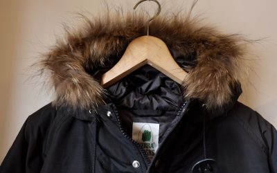 SIERRA DESIGNS   DOWN FUR PARKA