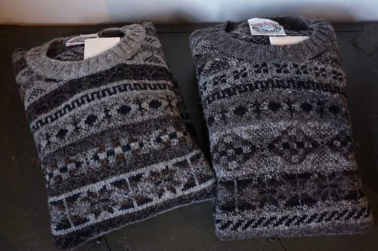 JAMIESON'S   ALL OVER FAIRISLE CREW NECK
