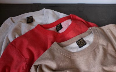 A VONTADE   Reverse Crew Sweat L/S