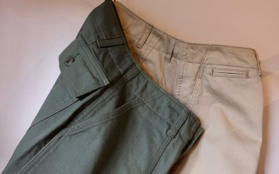 ORDINARY FITS   PIPE FATIGUE PANTS & PIPE CHINO PANTS