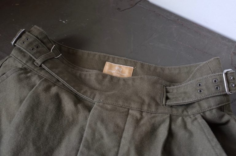 Nigel Cabourn   BATTLE DRESS SKIRT