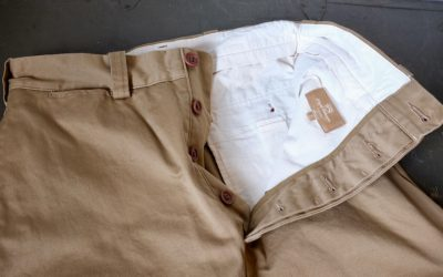 Nigel Cabourn   BASIC CHINO SKIRT-WEST POINT