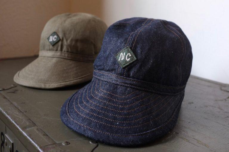 Nigel Cabourn   BASIC CAP C/L DENIM