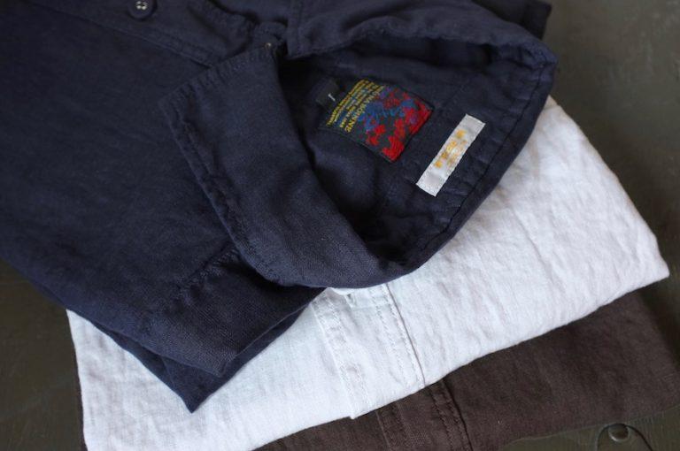 BRU NA BOINNE   リネンシャツ