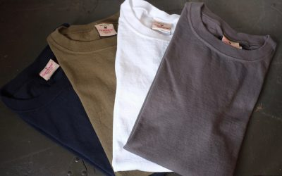 Goodwear   CREW-NECK S/S T-SHIRTS WITH CUFF AND HEM RIB