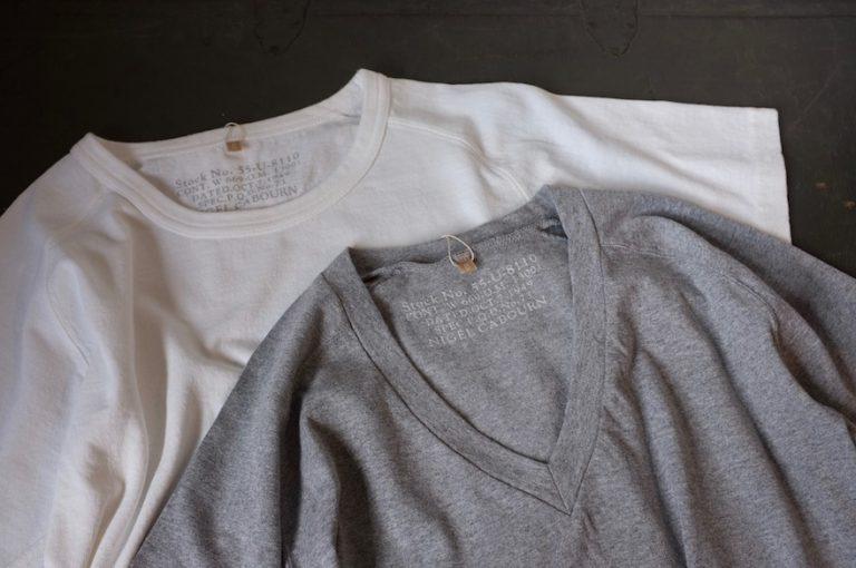 Nigel Cabourn   Crew Neck T-Shirt & V Neck T-Shirt