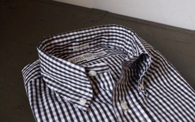 INDIVIDUALIZED SHIRTS   Gingham Check Standard Fit Button Down