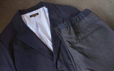 A VONTADE   Slim Easy Slacks & Lounge Jacket