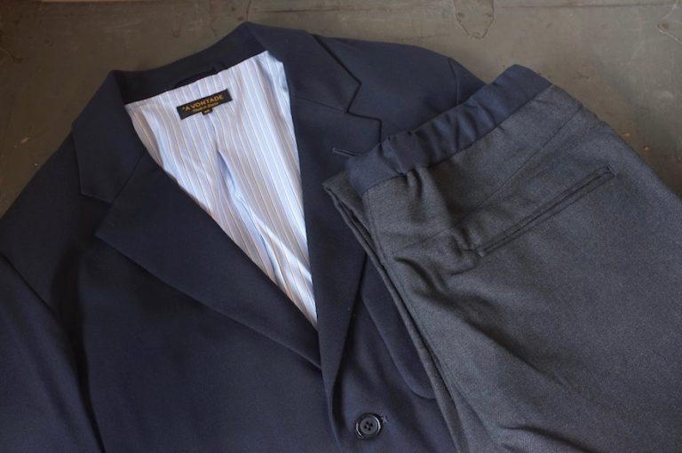 A VONTADE   Slim Easy Slacks & Lounge Jacket